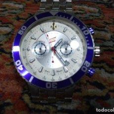 Relojes: RELOJ DE PULSERA HOMBRE CAUNY PRIMA TACHYNETRE EDICIÓN ESPECIAL CEP GRANDE 5 CM.. Lote 126207351