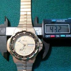 Relojes: GRAN DRIVER THERMIDOR QUARZT, DORADO DIA Y FECHA. Lote 126794948