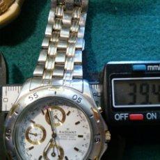 Relojes: RADIANT DRIVER CRONO QUARZT FECHA CON LA AGUJA GRANDE , RELOJ RARO Y PRECIOSO MULTIFUNCION. Lote 126795232