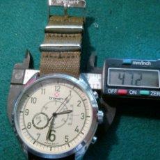 Relojes: BRENAT QUARZT RELOJ TIPO AVIADOR CON FUNCIONES FICTICIAS. Lote 126798368
