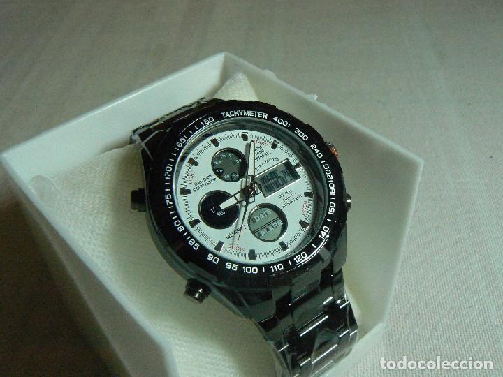 Reloj Vendido Subasta Color Correa En Me De Dual Y Digital Titaneo 3JTlFK1c