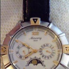 Relojes: RELOJ MERCURY WATCH ACERO INOX. Lote 127581019