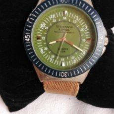 Relojes: RELOJ MILITAR AMERICANO, STEVENSON & BROSS. ILLINOIS, USA.. Lote 128089703