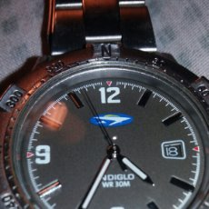 Relojes: RELOJ TIMEX WATER RESISTANT 30M INDIGLO. Lote 179169051