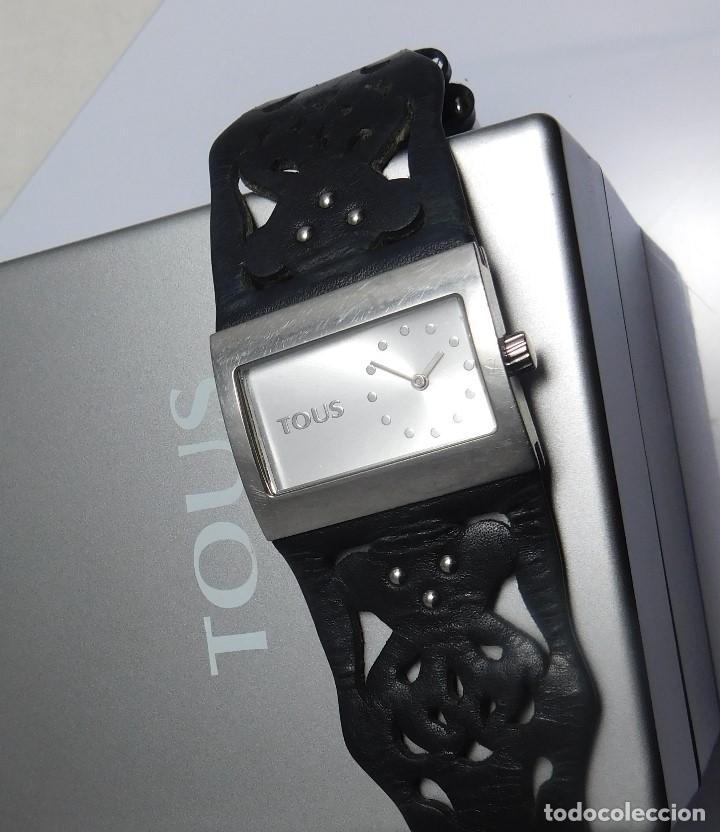 Relojes: TOUS-RELOJ DE PULSERA-ORIGINAL-CON DOCUMENTACIÓN-ESTUCHE ORIGINAL-FUNCIONANDO - Foto 2 - 128379667