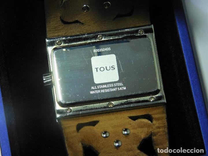 Relojes: TOUS-RELOJ DE PULSERA-ORIGINAL-CON DOCUMENTACIÓN-ESTUCHE ORIGINAL-FUNCIONANDO - Foto 3 - 128379667