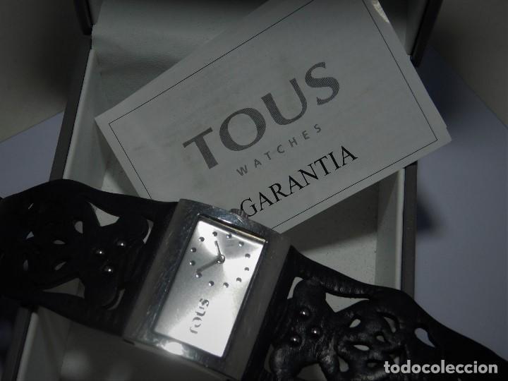 Relojes: TOUS-RELOJ DE PULSERA-ORIGINAL-CON DOCUMENTACIÓN-ESTUCHE ORIGINAL-FUNCIONANDO - Foto 10 - 128379667