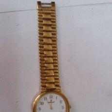 Relojes: RELOJ NOWLEY DE CUARZO CHAPADO EN ORO. Lote 128546083