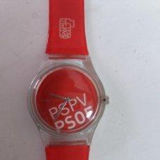 Relojes: RELOJ DE CUARZO DEL PSPV PSOE. Lote 128547027