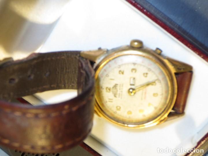 Relojes: PHILIPPE PRECISION 21 RUBIES DOS SELLOS RELOJ PULSERA GRANDE PLACA DE ORO 2º GUERRA MUNDIAL SS - Foto 8 - 128595335