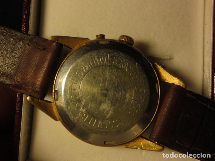 Relojes: PHILIPPE PRECISION 21 RUBIES DOS SELLOS RELOJ PULSERA GRANDE PLACA DE ORO 2º GUERRA MUNDIAL SS - Foto 9 - 128595335