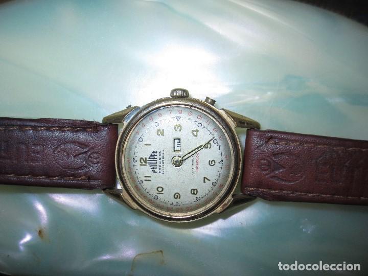 Relojes: PHILIPPE PRECISION 21 RUBIES DOS SELLOS RELOJ PULSERA GRANDE PLACA DE ORO 2º GUERRA MUNDIAL SS - Foto 14 - 128595335