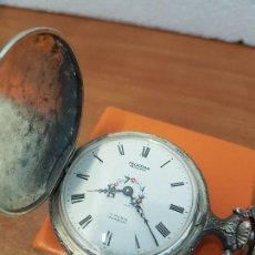 Relojes: RELOJ DE BOLSILLO (VINTAGE) MARCA FELICITAS NEUCHATEL SUIZO 17 RUBIS INCABLOC CON DOBLE TAPA . Lote 129177163