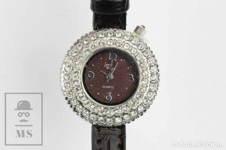 De 7 Cristales Colección Joya Con Mujer Relojes Cuarzo CertAutenticidad Swarovski Vaccaro 8yvmN0wOn