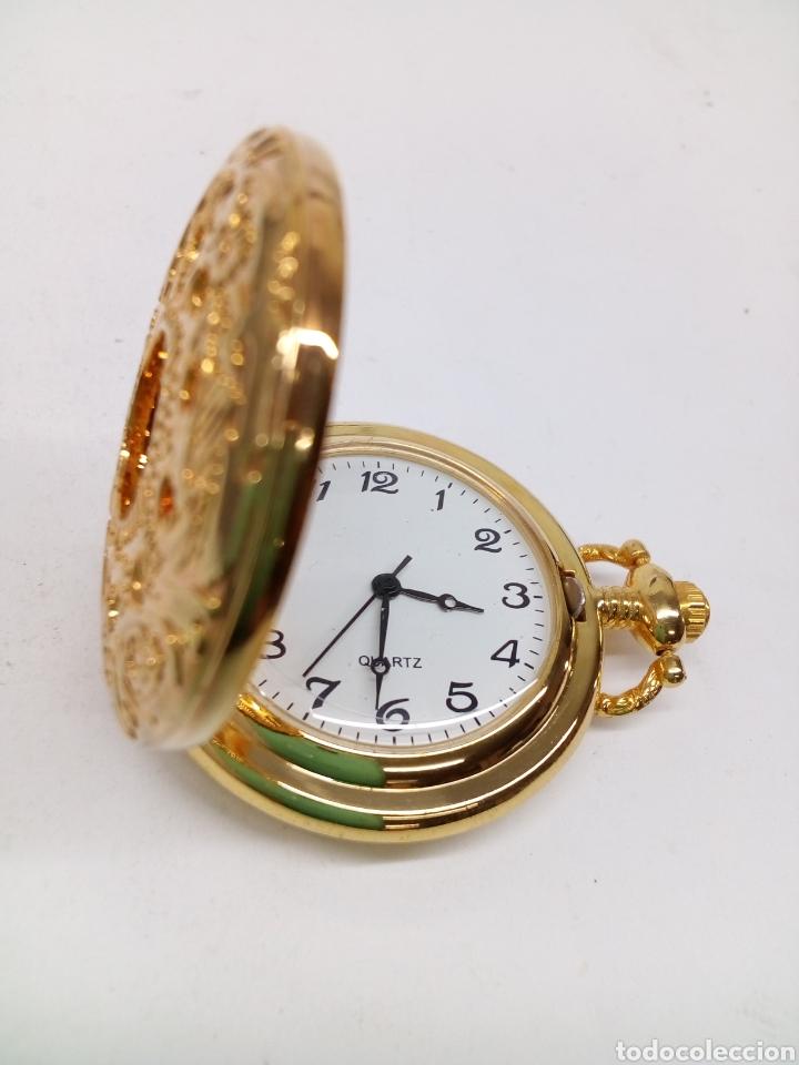 Relojes: Reloj de bolsillo a pilas como nuevo - Foto 2 - 129220391