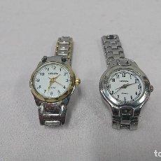 Relojes: LOTE DE 2 RELOJ GENEVA DE SEÑORA. Lote 129740711