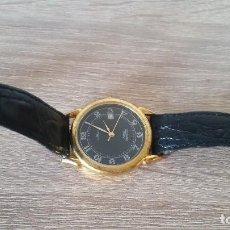 Relojes: RELOGIO PARA HOMBRE MARCA TEMPIC COM CALENDARIO QUARTZSELADO MINIRAL CRISTAL. Lote 130695174