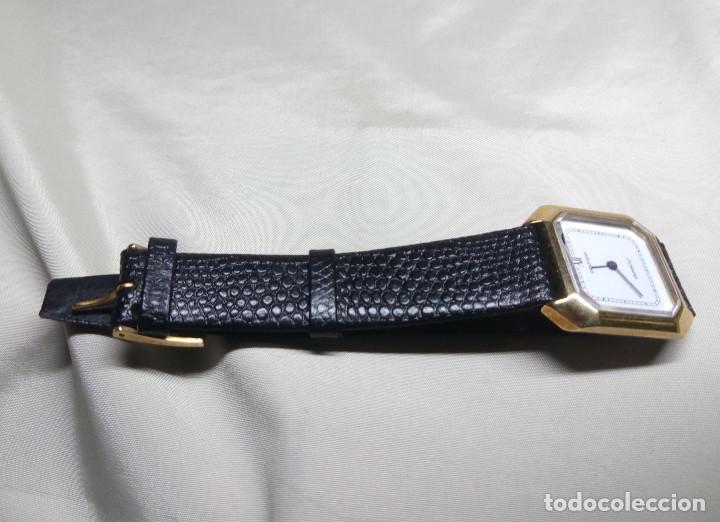 Relojes: RELOJ GRASTENY DE CUARZO CHAPADO EN ORO - Foto 3 - 130859768