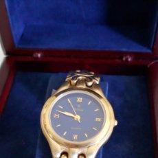 Relojes: RELOJ MX ONDA DORADO. NUEVO EN SU CAJA. Lote 131187052