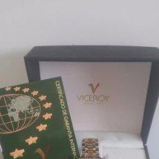 Relojes: RELOJ CABALLERO VICEROY 100 % ORIGINAL NUEVO COMPLETO. VER FOTOS. Lote 131338210