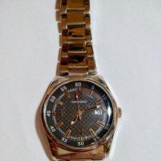 Relojes: TIME FORCE QUARTZ,CALENDARIO,CALENDARIO,ALL ACERO,CAJA 44,4 M/M.C/C.PULSERA MAX 190 M/M.. Lote 131779654