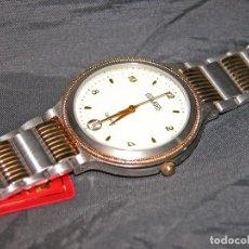 Relojes: RELOJ DE CABALLERO MARCA DUWARD. ACERO BICOLOR. VINTAGE. NUEVO. NOS.. Lote 132031962