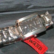 Relojes: RELOJ DE CABALLERO MARCA DUWARD. ACERO. VINTAGE. NUEVO. NOS.. Lote 132032194