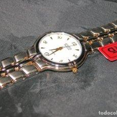 Relojes: RELOJ DE PULSERA MARCA DUWARD DIPLOMATIC. ACERO BICOLOR. VINTAGE. NUEVO. NOS.. Lote 132032690