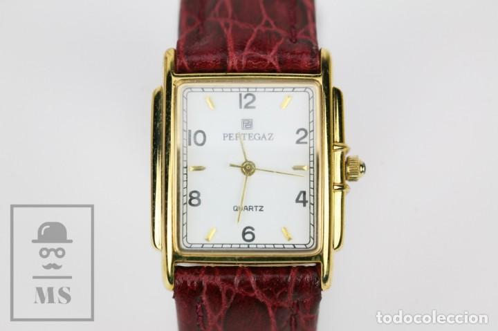 Relojes: Reloj de Pulsera para Mujer - Pertegaz - Cuarzo / Quartz, Correa de Piel Granate - La Caixa - Foto 6 - 132079166