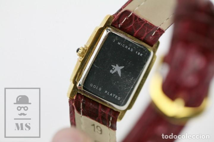 Relojes: Reloj de Pulsera para Mujer - Pertegaz - Cuarzo / Quartz, Correa de Piel Granate - La Caixa - Foto 8 - 132079166