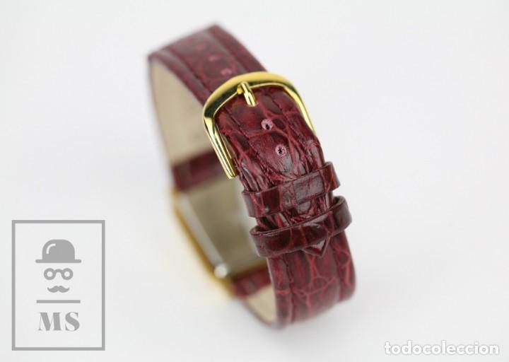 Relojes: Reloj de Pulsera para Mujer - Pertegaz - Cuarzo / Quartz, Correa de Piel Granate - La Caixa - Foto 9 - 132079166