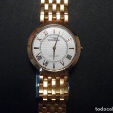 Relojes: RELOJ ARMIS CHAPADO EN ORO ROSA ESFERA BLANCA. BOOMERANG. QUARTZ. ITALIA-SUISSE SIGLO XXI. Lote 132586474