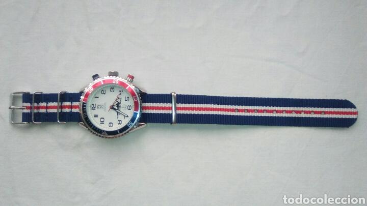 Relojes: Reloj estilo militar. World Time Internacional WTI. Modelo SS Enterprise. Año 2016 - Foto 3 - 132813767