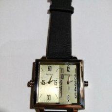 Relojes: PONTINA 45 M/M.- C/C. DOBLE HORARIO, 2 MECANISMO MIYOTA QUARTZ. Lote 132842862