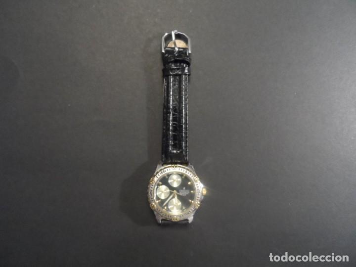 Relojes: RELOJ CORREA CUERO SEÑORA-CADETE ACERO Y DORADO. FESTINA. MULTIFUNCION. QUARTZ. SIGLO XX - Foto 5 - 132910310