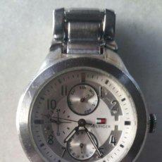 Relojes: RELOJ HILFIGER, DE ACERO INOX 100% STAINLESS STEEL - FUNCIONANDO. Lote 132931458