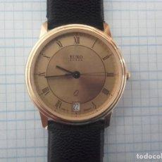 Relojes: RELOJ EURO CHRON QUARTZ CALIBRE RULHA 13/2 DE ALEMANIA MUY BUEN ESTADO, CADETE 32MM SIN INCL CORONA. Lote 132972434