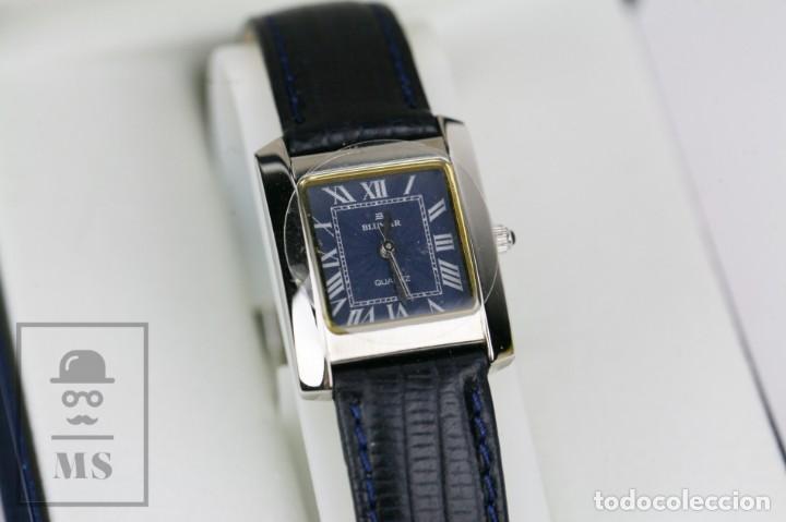 Relojes: Reloj de Pulsera para Mujer - Blumar / Quartz / Cuarzo - Correa Azul Marino - Con Caja - Foto 2 - 133285882