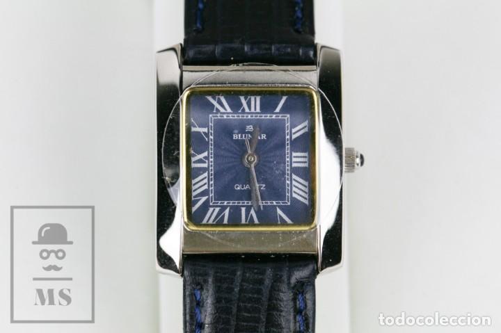 Relojes: Reloj de Pulsera para Mujer - Blumar / Quartz / Cuarzo - Correa Azul Marino - Con Caja - Foto 3 - 133285882