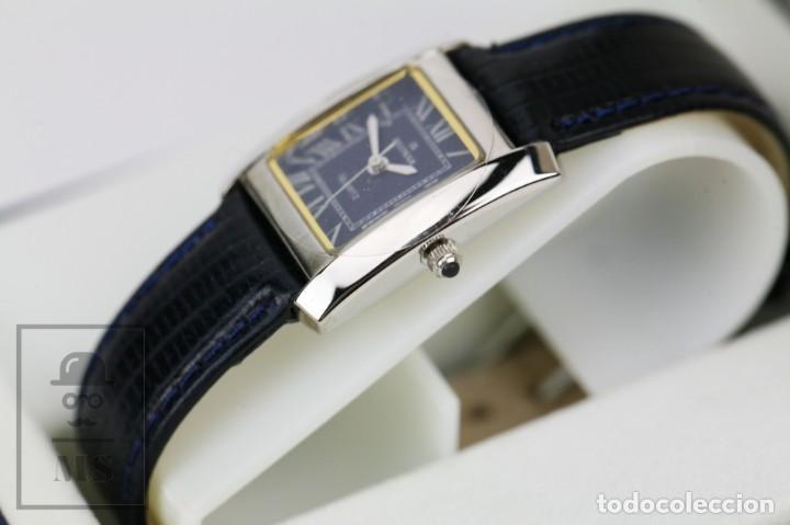 Relojes: Reloj de Pulsera para Mujer - Blumar / Quartz / Cuarzo - Correa Azul Marino - Con Caja - Foto 5 - 133285882