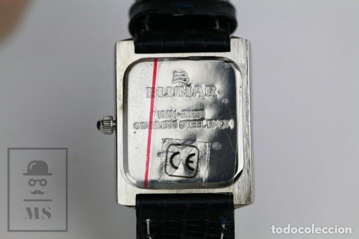 Relojes: Reloj de Pulsera para Mujer - Blumar / Quartz / Cuarzo - Correa Azul Marino - Con Caja - Foto 8 - 133285882