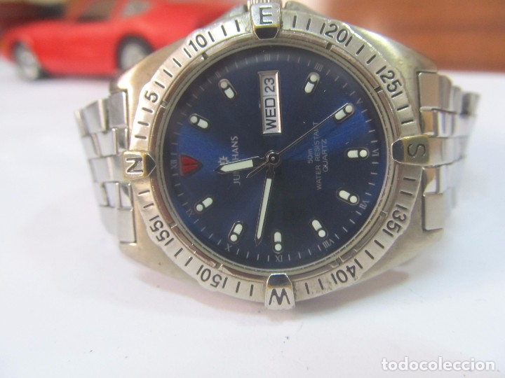Relojes: RELOJ JUNGHANS DE CUARZO, CON CALENDARIO - Foto 3 - 133462678