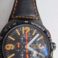 Relojes: RELOJ CRONÓGRAFO MONTRES DE LUXE, DE CUARZO. Lote 133641698