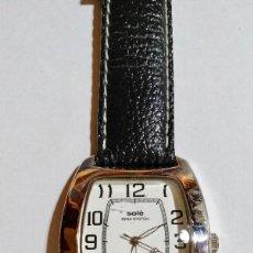 Relojes: SOLÉ DE HOMBRE,QUARTZ ,40X40 M/M.-C/C. CAJA DE ACERO .. Lote 133658242