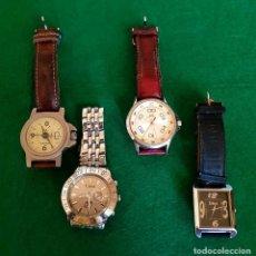 Relojes: LOTE DE 4 RELOJES. Lote 135118086