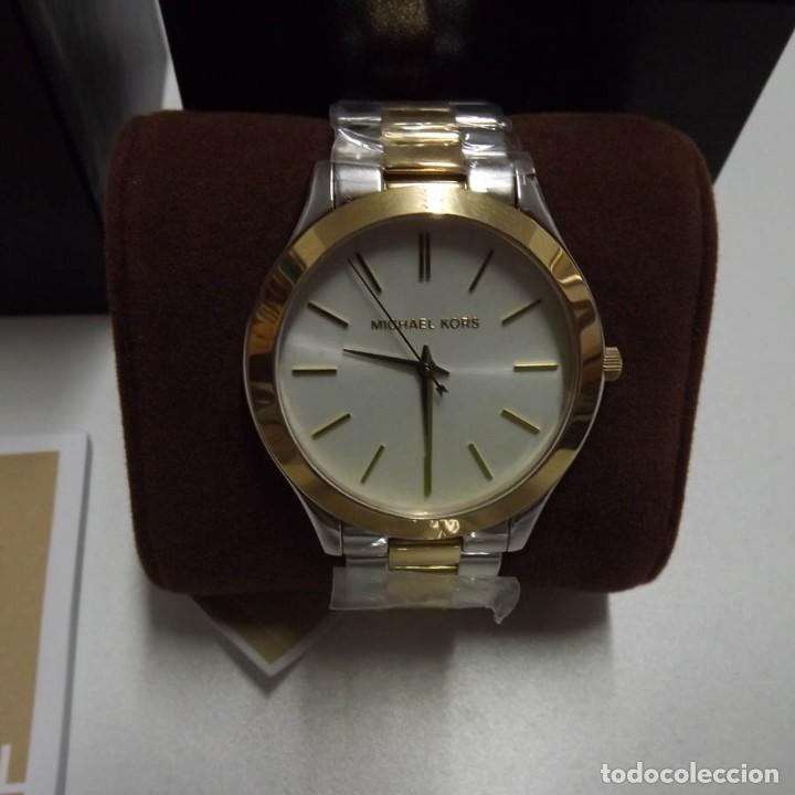 Relojes: Reloj original Michael Kors MK-3198 nuevo con caja, librillo y etiqueta - Foto 2 - 135135342