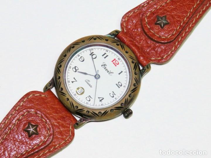 ERVIL DE CUARZO (Relojes - Relojes Actuales - Otros)