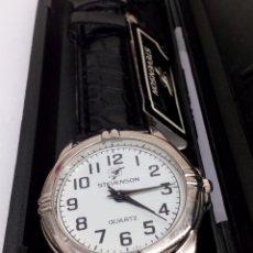 Relojes: RELOJ STEVENSON QUARTZ EN SU ESTUCHE. Lote 136009284
