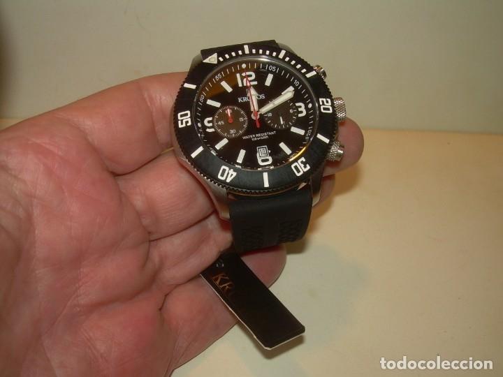 Relojes: RELOJ...KRONOS....NUEVO DE FONDO DE TIENDA SIN HABER SIDO USADO.CON CAJA ORIGINAL. - Foto 3 - 136358638