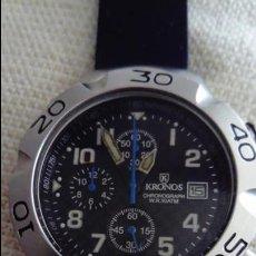 Relojes: RELOJ KRONOS CRONÓMETRO EDICIÓN LIMITADA WEGA. Lote 136375054